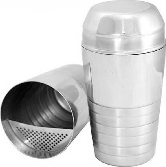 Shaker with ΙΝΟΧ Sieve Silver 600ML