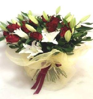 Long Stem Roses & Oriental