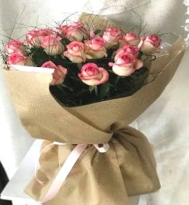 Twenty Pink Roses