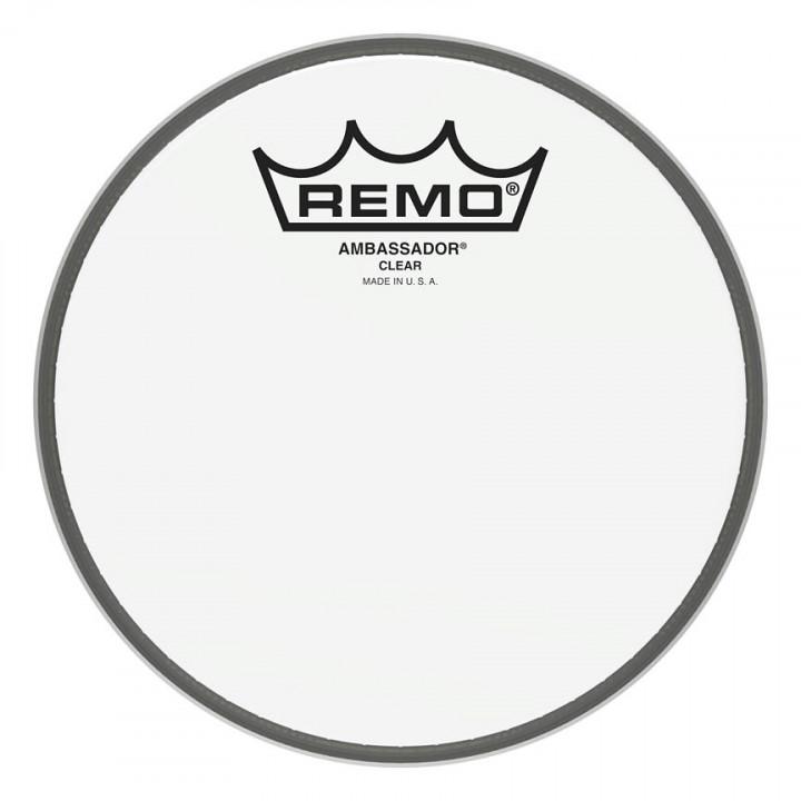 REMO AMBASSADOR SERIES CLEAR DRUMHEAD Snare/Tom 6″ Diameter Model