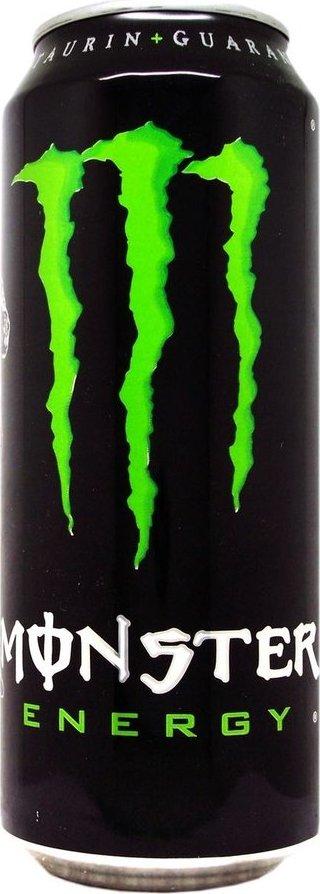 MONSTER ENERGY TAURINE & GINSENG 500ML