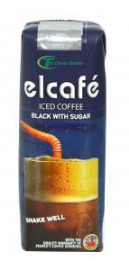 ELCAFE BLACK WITH SUGAR 250ML
