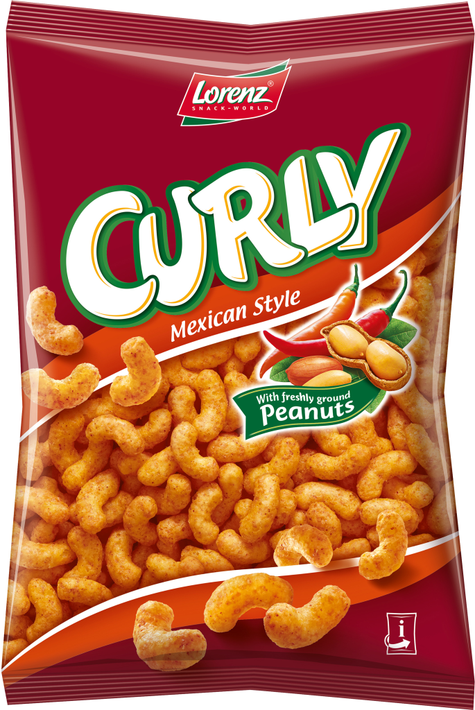 CURLY PEANUT MEXICAN STYLE 150G