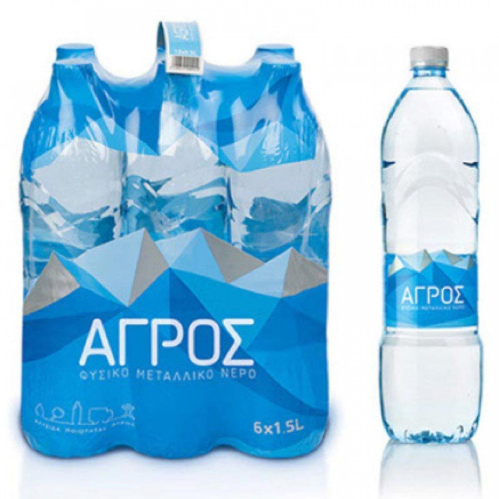 AGROS WATER 1.5L X6
