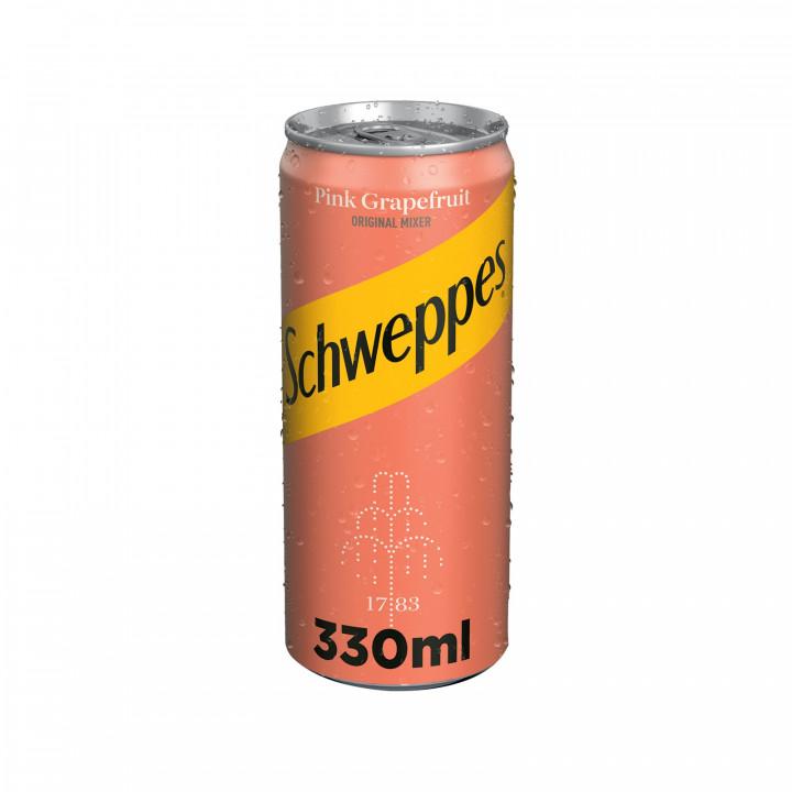 SCHWEPPES PINK GRAPEFR. 330ML