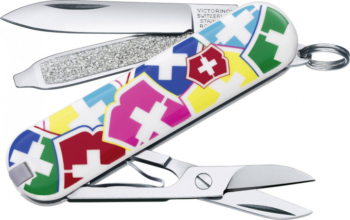SWISS ARMY KNIFE CLASSIC SD 58mm VX COLORS