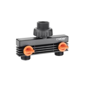 """CLABER 3/4"""" MALE TWO-WAY ADAPTER"""