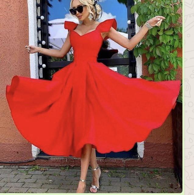 Red Mindy Dress
