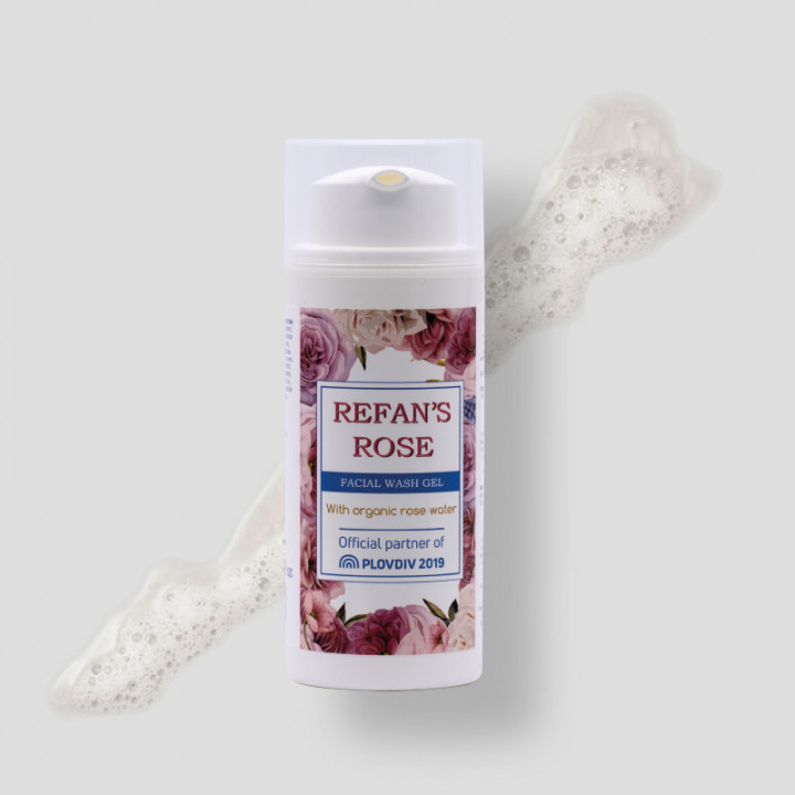 Refan's Rose – Facial Wash Gel 100ml
