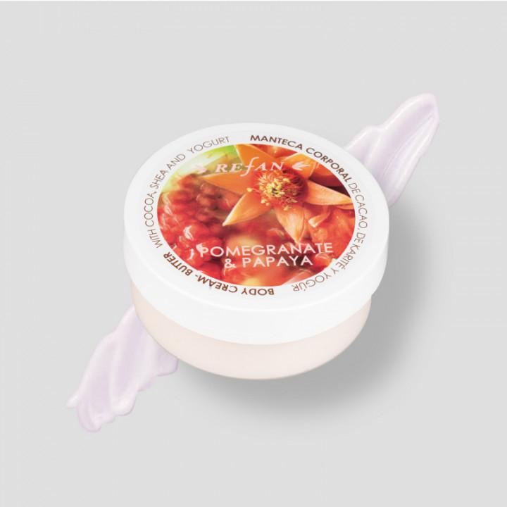 Pomegranate & Papaya – Body Cream 200ml