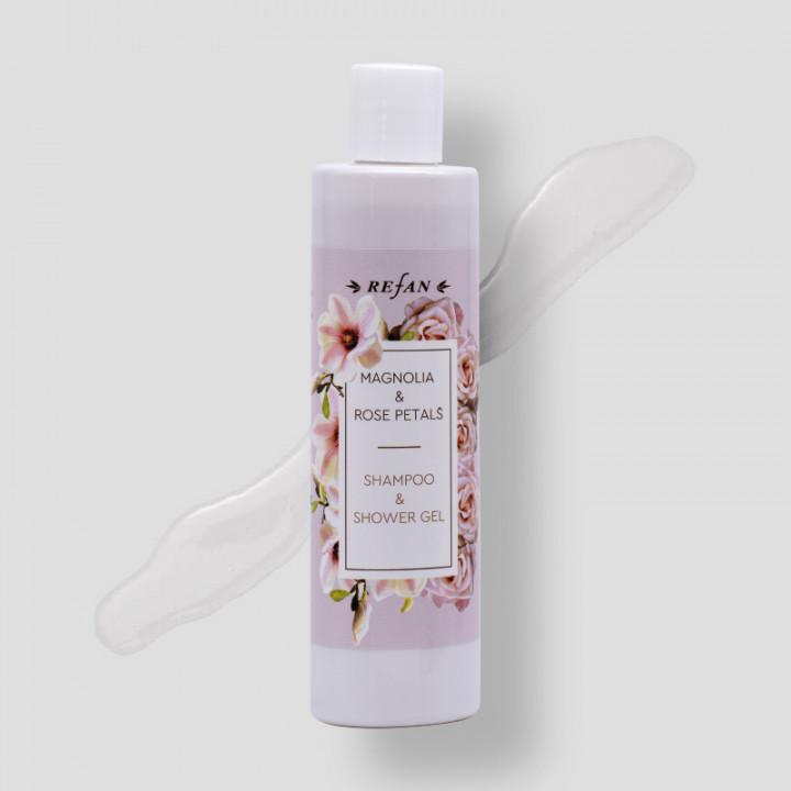 Magnolia & Rose Petals – Shampoo & Shower Gel 250ml