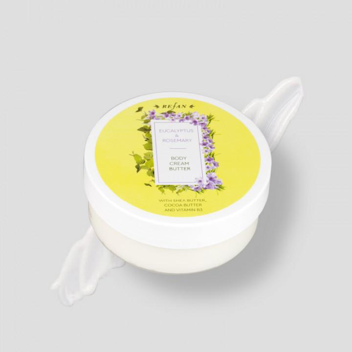 Eucaliptus & Rosemary – Body Cream 200ml