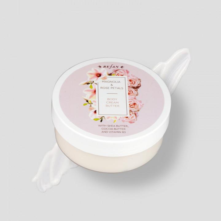 Magnolia & Rose Petals – Body Cream 200ml
