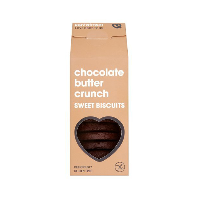 Kent & Fraser Chocolate Butter Crunch Sweet Biscuits, 125g