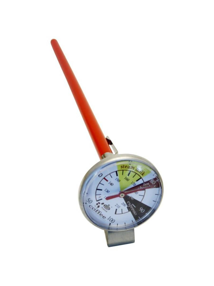 THERMOMETER ANALOGUE Silver 127MM