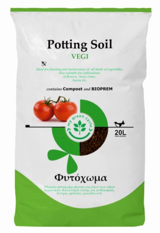 POTTING SOIL VEGI 20LT