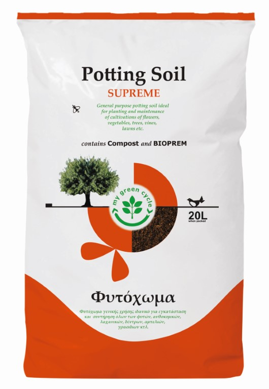 POTTING SOIL SUPREME 20LT