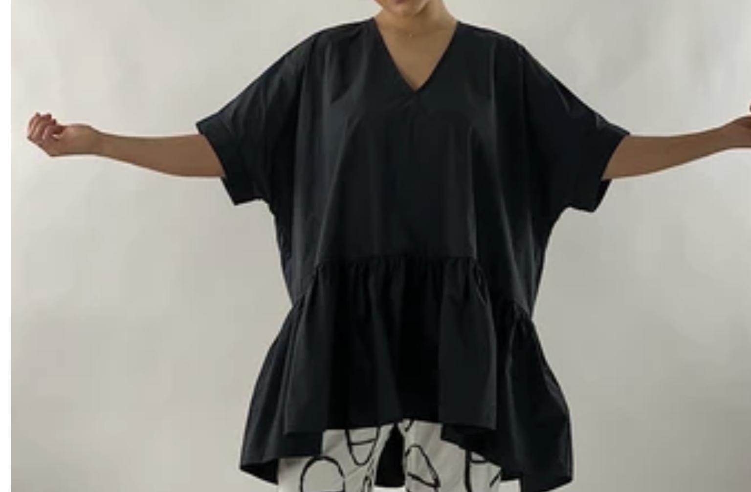 Alembika Top/Dress V-Neck xs,s