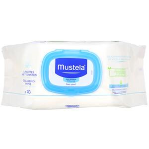 Mustela cleansing wipes