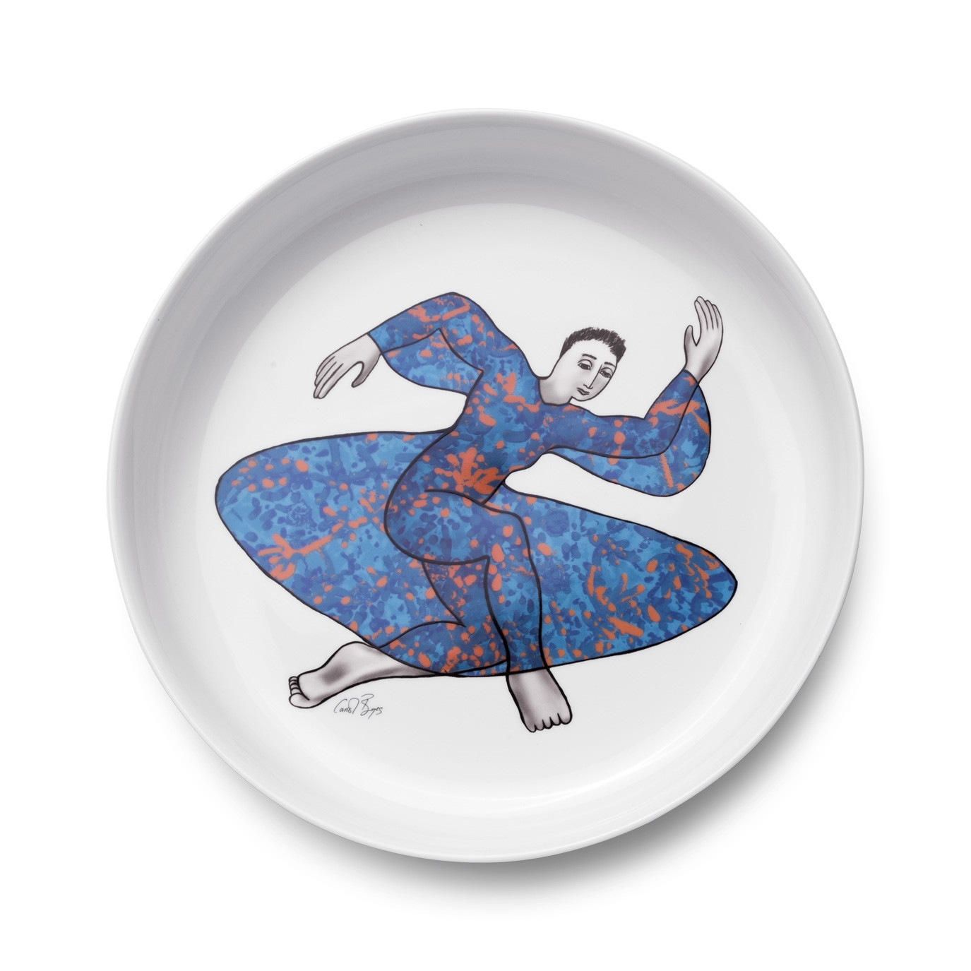 LOW BOWL 32cm - dancer