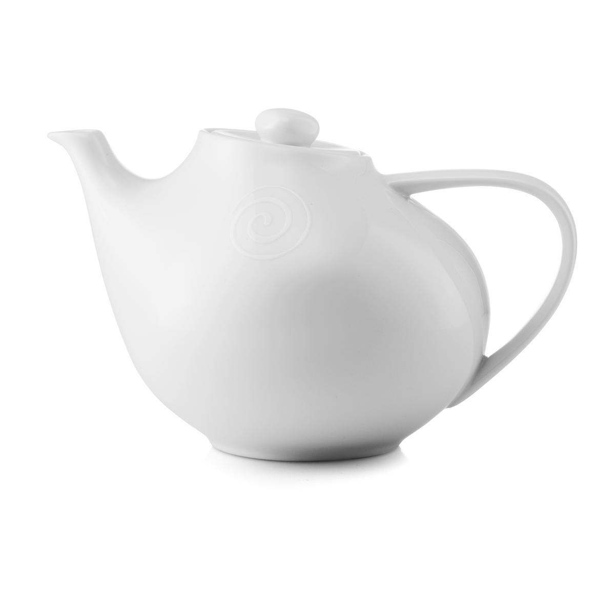 TEA POT - swirl