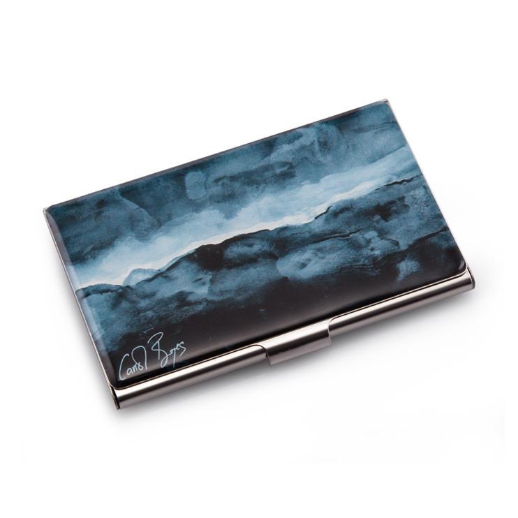 BUSINESS CARD CASE - sea 'n sky