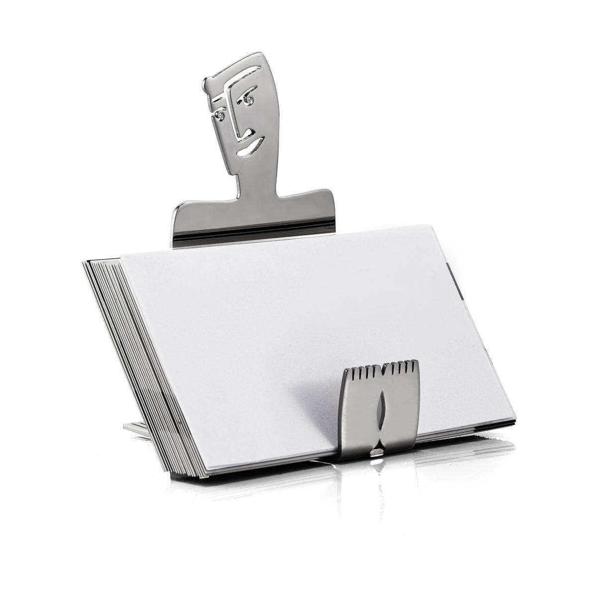 BUSINESS CARD HOLDER - face off
