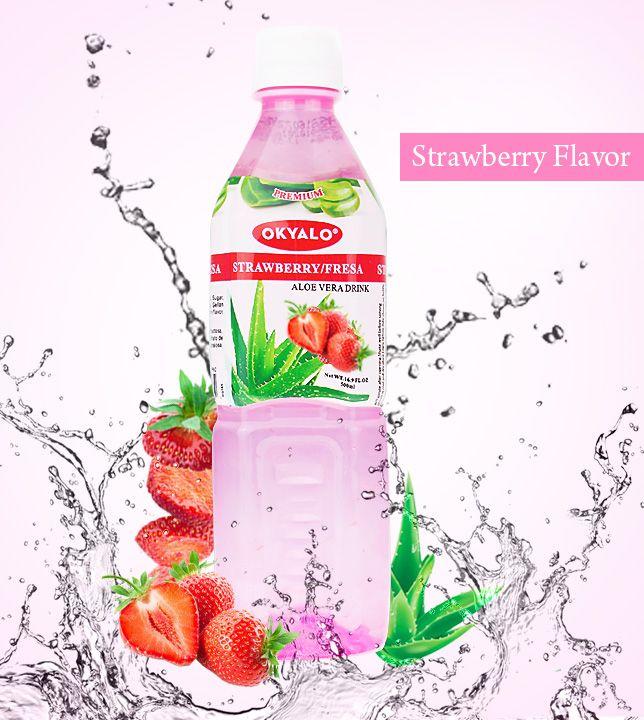 aloe vera  premium strawberry 500ml