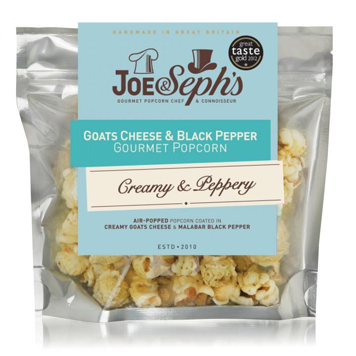 Joe & Seph's - Goats Cheese & Black Pepper 27g
