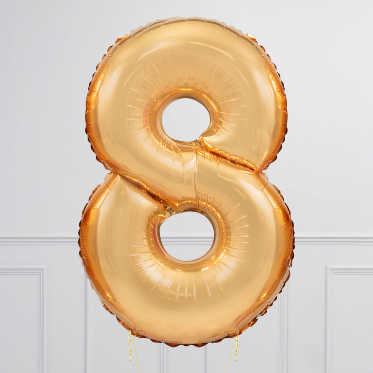 Giant Number 8 Gold