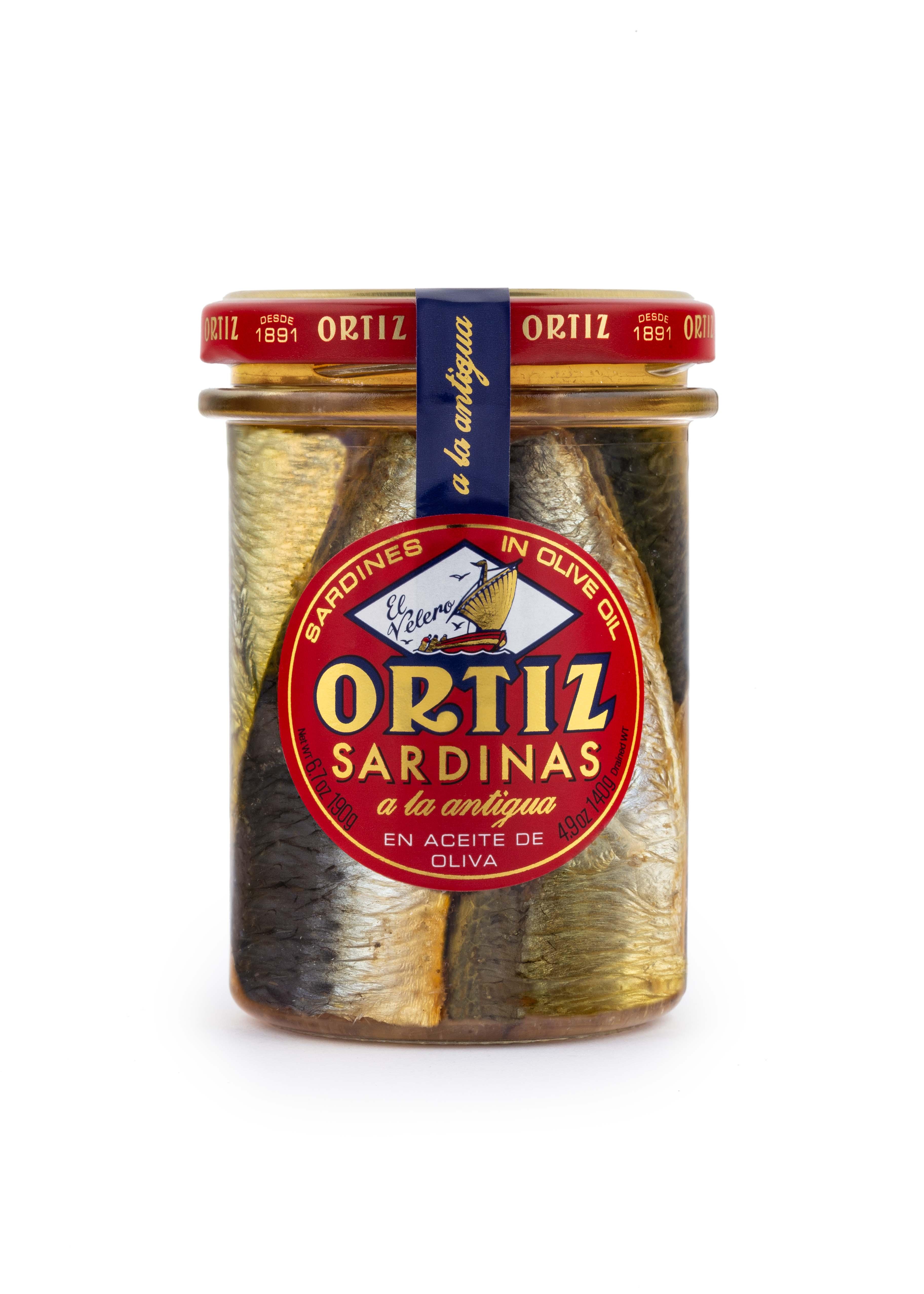 Sardines in olive oil 190gr Jar