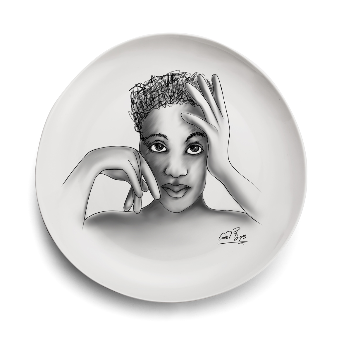 DINNER PLATE - in vogue