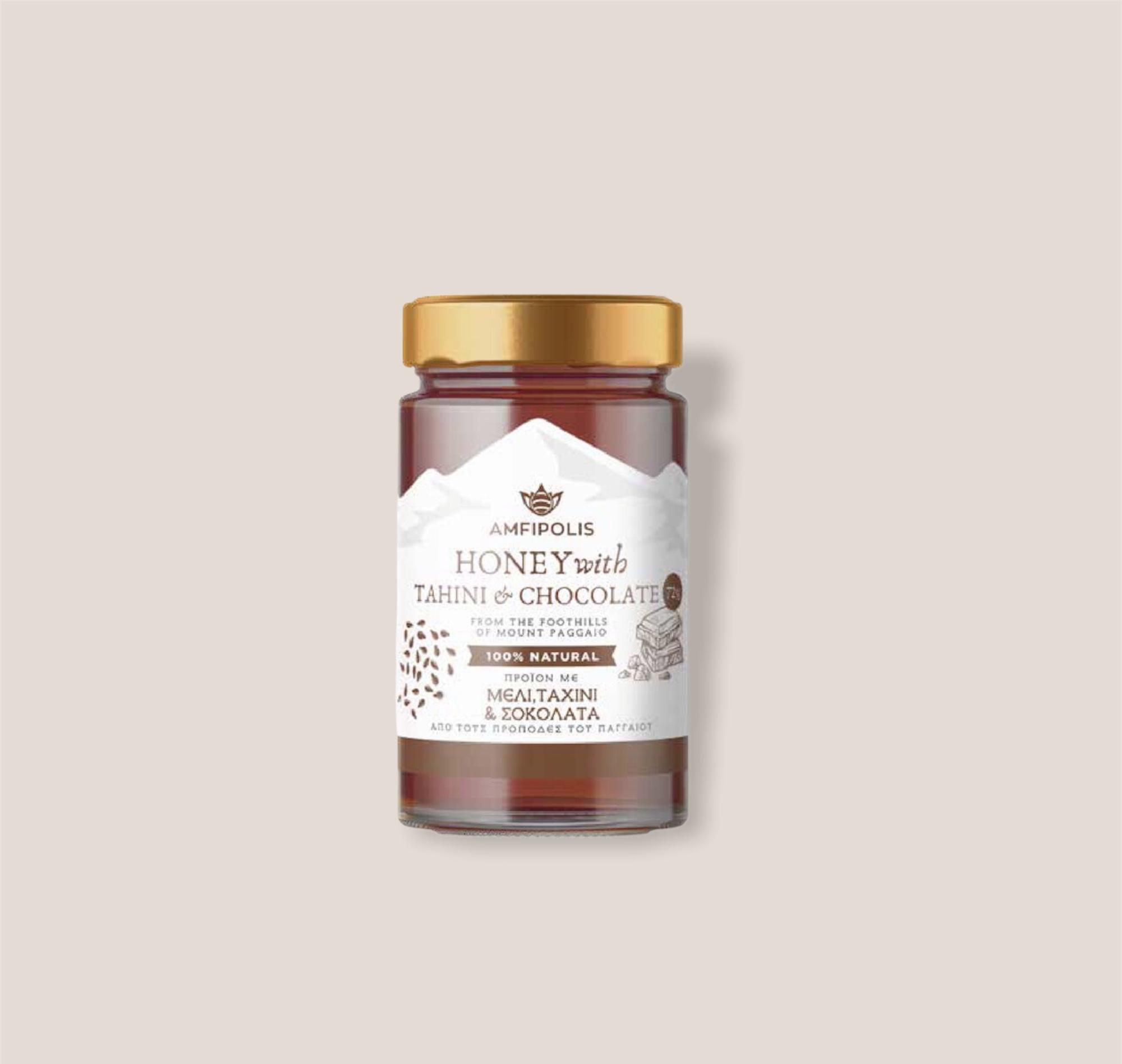 Amfipolis Honey with Tahini and Chocolate 350g