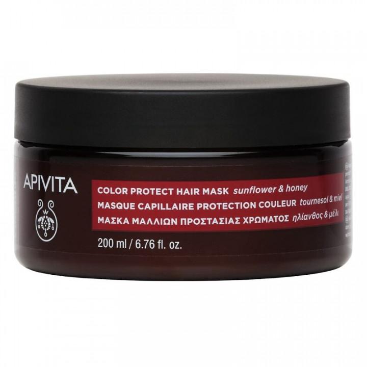 APIVITA Hair Protection Mask Sunflower & Honey 200ml