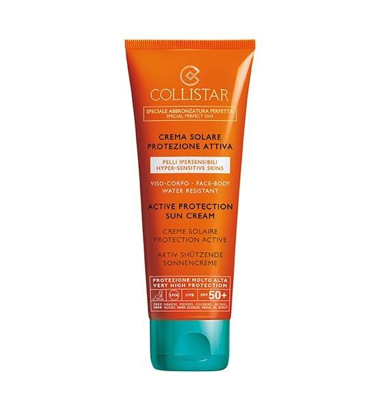 Collistar ACTIVE PROTECTION SUN CREAM SPF 50+ FACE & BODY 100 ml
