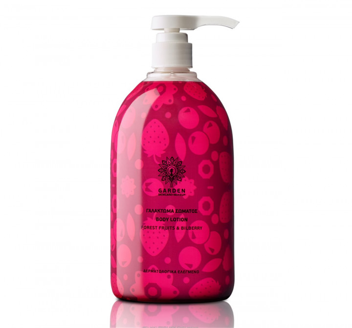 GARDEN  body lotion forest fruits & bilberry 1000ml