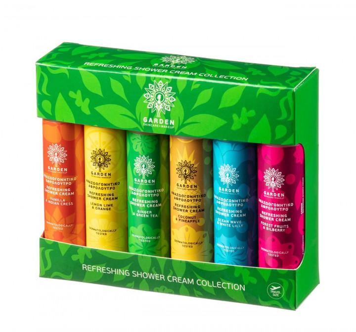 Garden Refreshing Shower Cream Collection 6x50ml