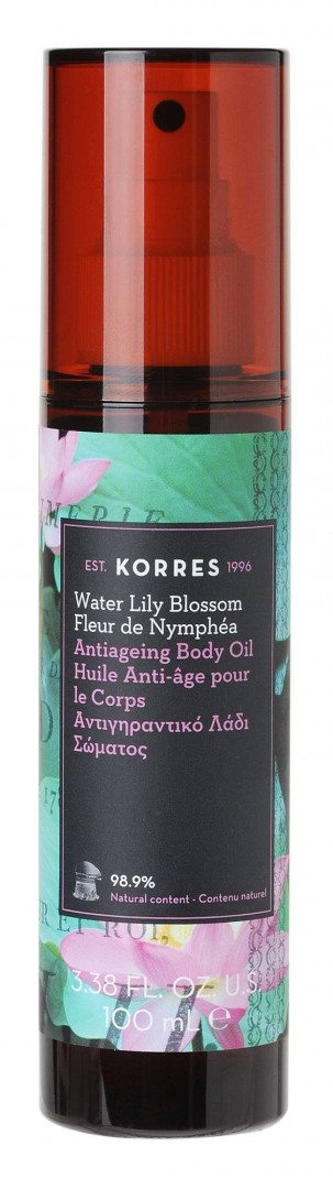 KORRES ANTIAGEING BODY OIL- WATER LILY BLOSSOM 100ml