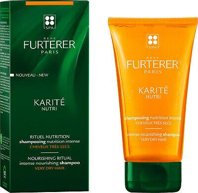 RENE FURTERER KARITE nourishing ritual intense nourishing shampoo for VERY DRY hair 150ml