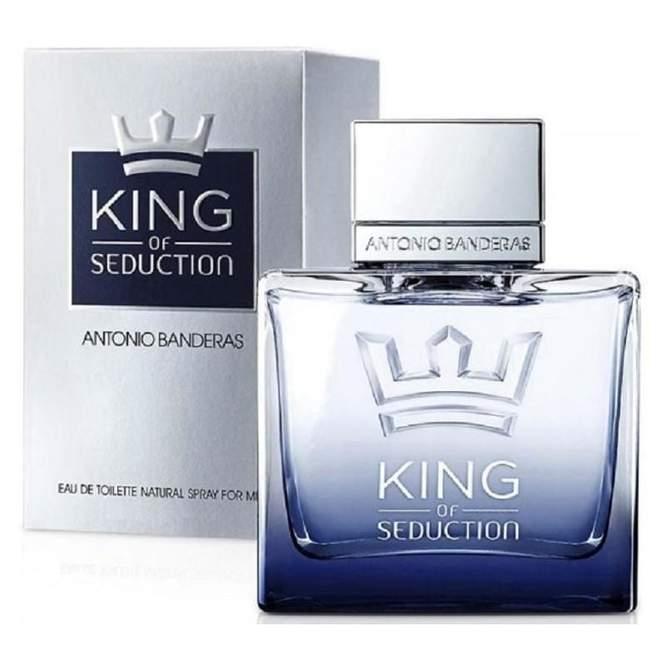 ANTONIO BANDERAS KING OF SEDUCTION perfume 100ml & deodorant spray 150ml
