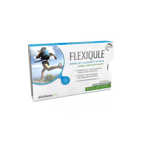 Flexiqule Herbal Food Supplement 30 Capsules