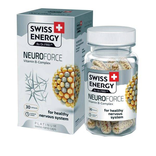 SWISS ENERGY NEUROFORCE 30 CAPSULES