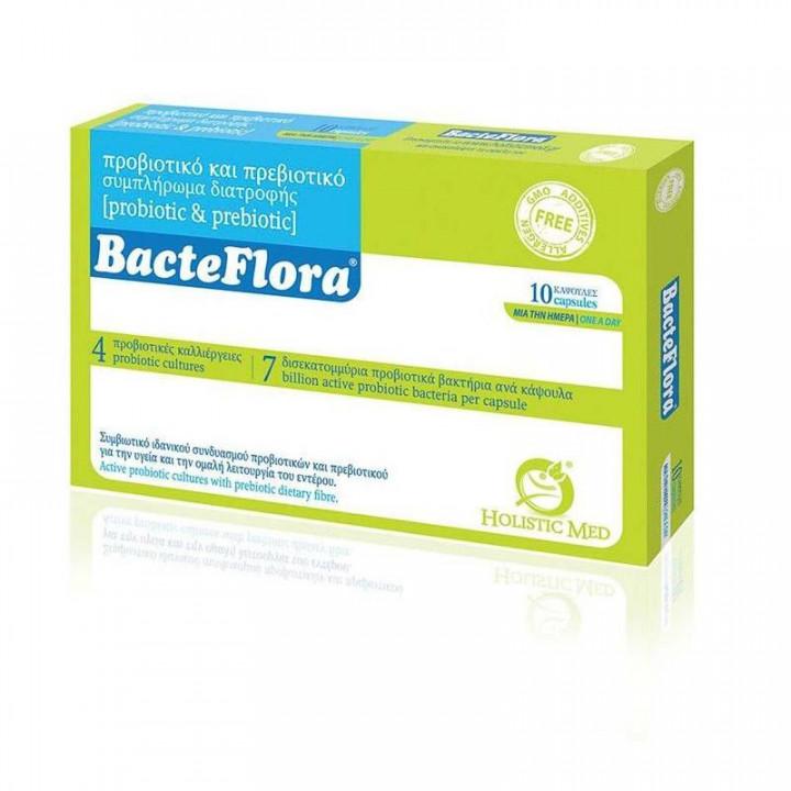 Holistic Med Bacteflora Symbiotic 10 capsules
