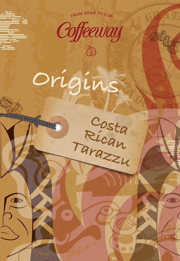 Tarazzu CostaRica Coffee Beans 500gr