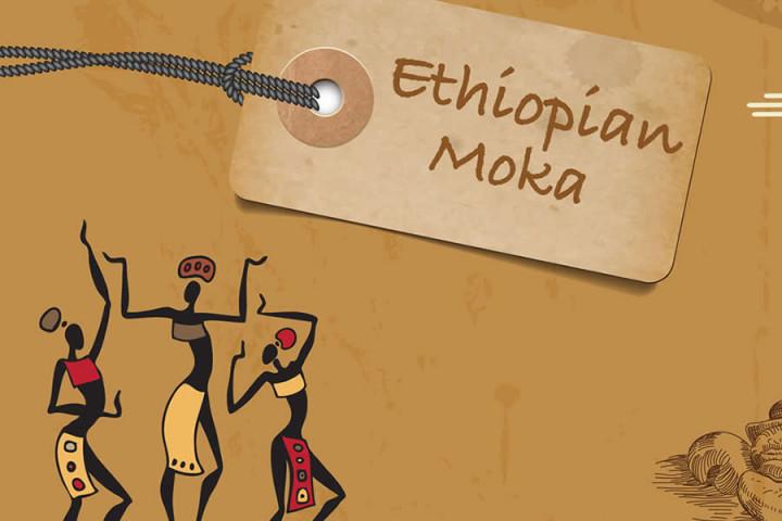Ethiopian Moka Coffee Beans 500gr