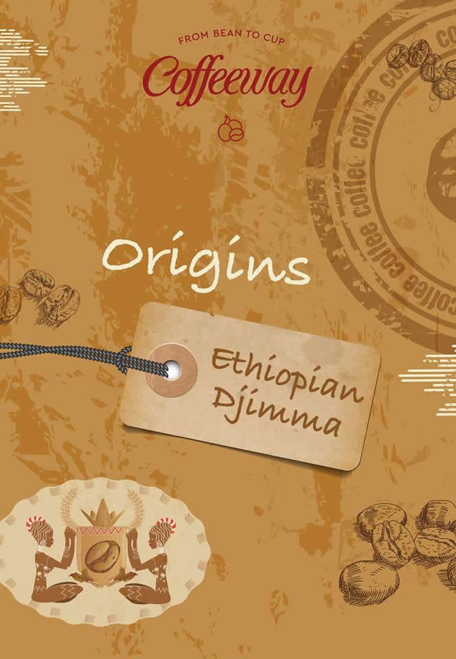 Ethiopian Djimma Filter Coffee 1kg - Paper Filter