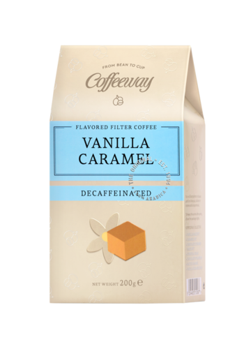 Vanilla Caramel Decaffeinated Filter Coffee 200gr