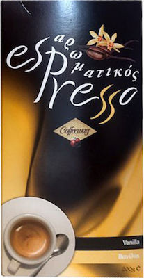 Aromatic Espresso - Vanilla 200gr - Espresso Coffee Briki with Valve