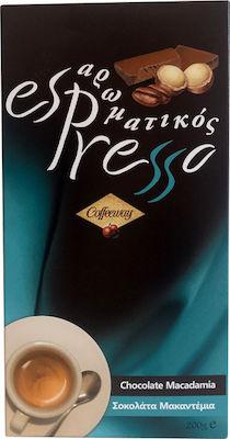 Aromatic Espresso - Chocolate Macandemia 200gr - Espresso Coffee Briki without Valve