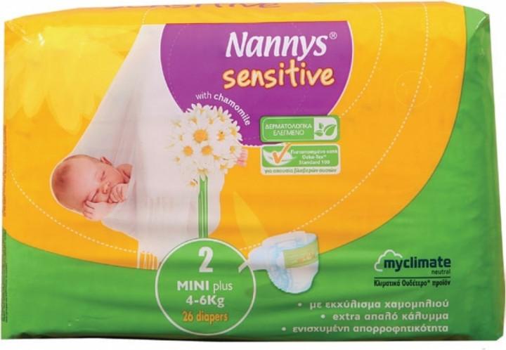 NANNYS SENSITIVE MINI PLUS 26'S NO.2